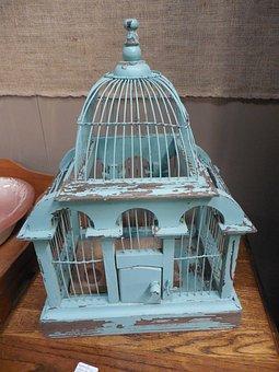 Victorian, Birdcage, Bird, Design, Vintage, Cage, Retro