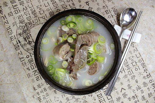 Soup, Bob, Food, Haejangguk, Pork Soup