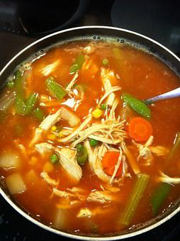 Stew, Chicken Soup, Nutrition, Cook