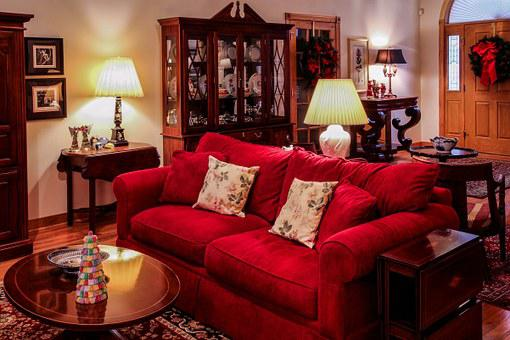 Living Room, Great Room, Christmas Time