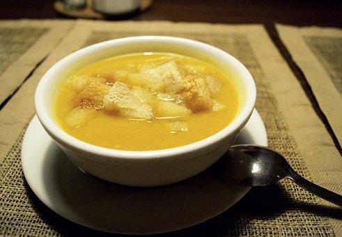 Soup, Cream, Peas