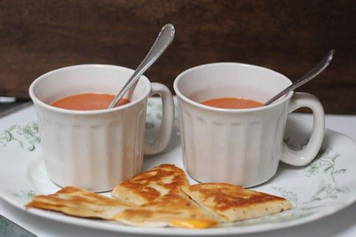 Cup, Lunch, Soup, Food, Sandwich, Meal, Delicious