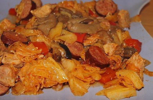 Bigos, Herb Pot, Eat, Meal, Delicious, Healthy, Food