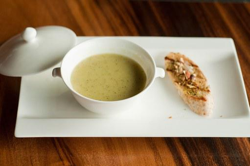 Soup, Food, Gourmet, Fine, Dining, French, Gastronomy