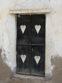 Door, Front Door, House Entrance, Input, Goal, Wood