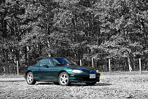 Mazda, Miata, Mx-5, 1999, Sports Package, Bilstein
