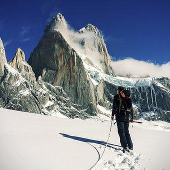 Adventure, Cold, Hiking, Mountain, Mountaineer