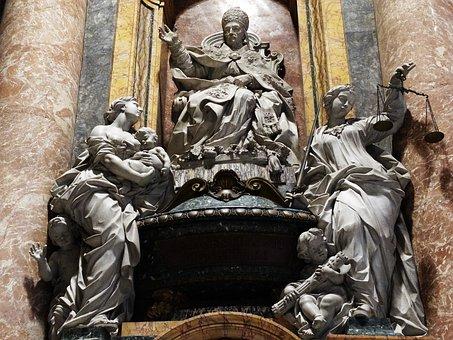 Work Of Art, Italia, Rome, Religion, Monument