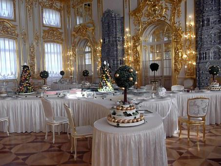 Catherine's Palace, Rooms, Splendor, Gold Ornament