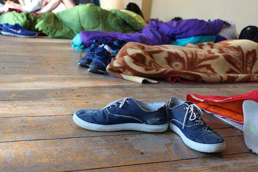 Shoes, Sleeping Bag, Youth