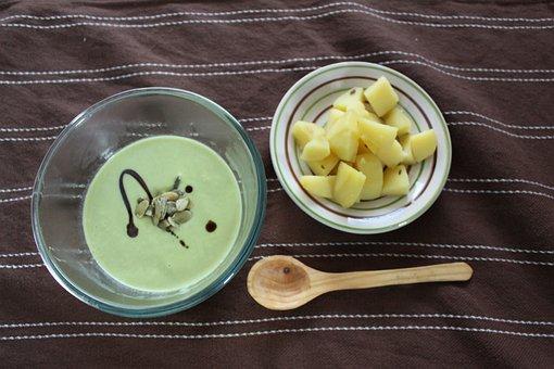 Soup, Vegan, Peas