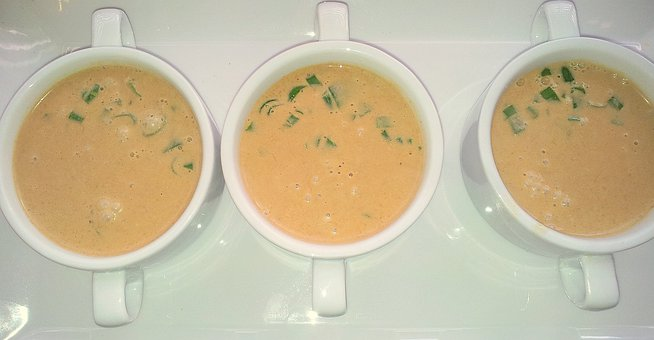Thai, Coconut, Soup
