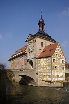 Town Hall, Bamberg, Old, Building, Germany, House