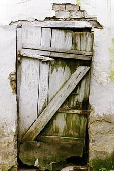 Door, Old, Wooden, Wood, Entrance, House, Grunge