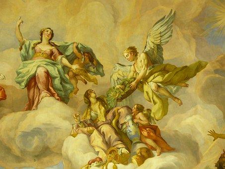 Mural, Fresco, Artwork, Historically, Painting, Church
