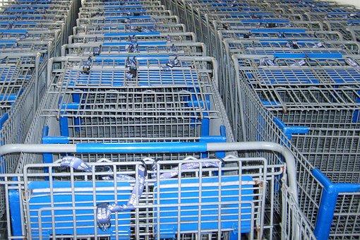 Cart, Buggy, Shopping, Basket, Trolley, Store, Buy