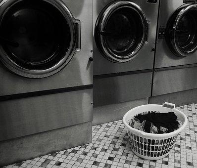 Laundromat, Launderette, Laundry, Basket