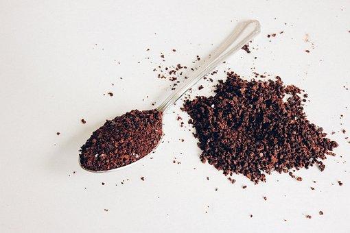 Coffee, Black, Spoon, Drink, Espresso, Cafe, Caffeine