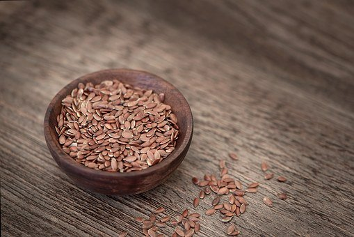 Flax Seed, Seeds, Eat, Healthy, Food, Bowls, Close