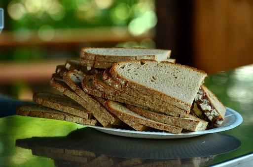 Bread, Bread Slices, Brotteller, Breakfast, Eat, Food