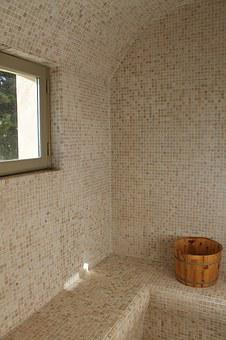 Tile, Bucket, Wood, Hamam, Sauna, Relaxation