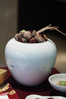 Food, Buddha Jump Over The Wall, Shiitake Mushroom, Red