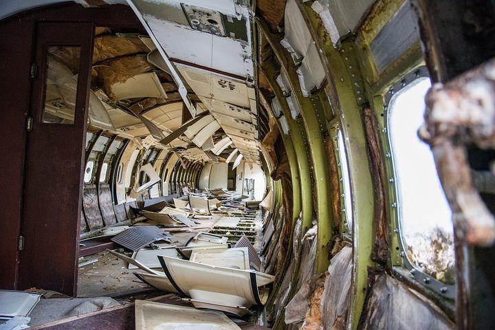 Airplane Crash, Crash, Destroyed, Aircraft, Accident