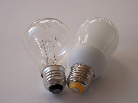 Light Bulb, Lamp, Pear, Glow Lamp, Energy, Bulbs