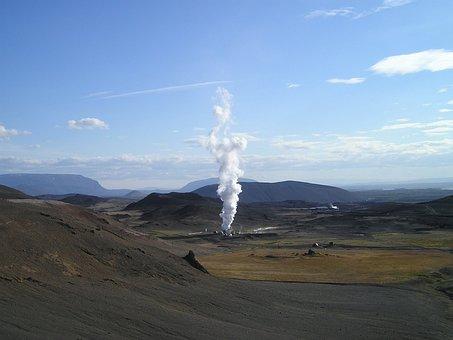 Geothermal, Energy, Power Plant, Regenerative