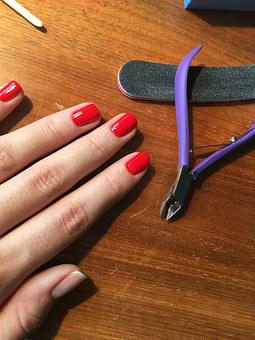 Painting, Manicure, Beautician, Hands, Nails, The Hand