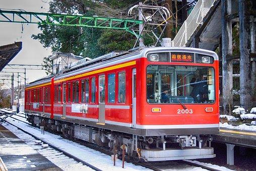 Japan, Train, Metro, Winter, Snow, Ice, Transportation