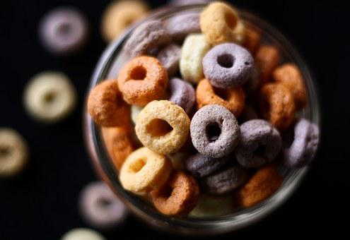 Cereal, Cheerios, Children, Kid, Morning, Food