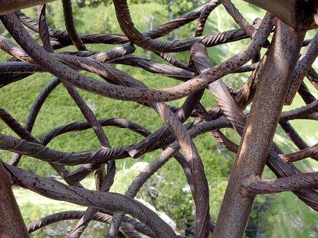 Steel, Network, Tissue, Devoured, Art