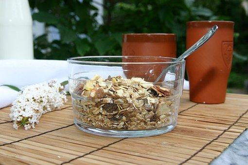 Muesli, Shell, Breakfast, Eat, Food, Oatmeal, Cereals
