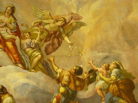 Mural, Painting, Art, Fresco, Historically, Church
