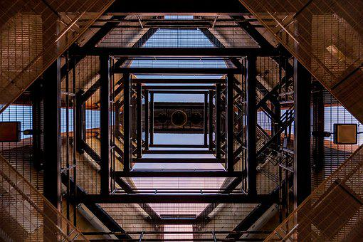 Architecture, Low Angle Shot, Perspective, Steel, Tower
