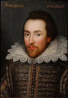 William Shakespeare, Poet, Writer, Painting, Portrait