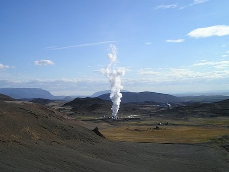 Geothermal, Energy, Power Plant, Regenerative