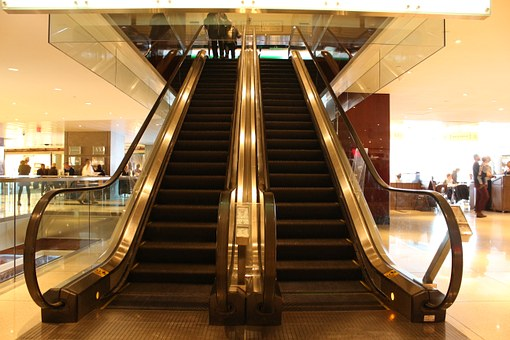 Escalator, Stairway, Staircase, Stair, Step, Walk, Way