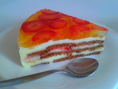 Cake, Dessert, Sweet Dish, Pastries, Sweets, Sweet