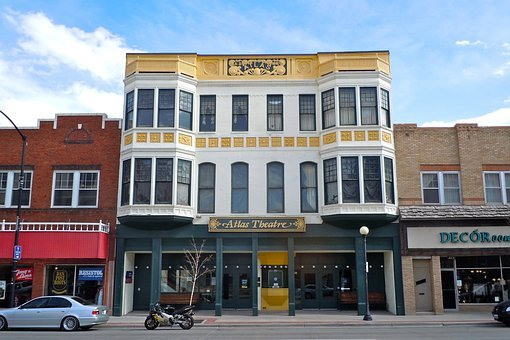 Cheyenne, Wyoming, Atlas Theatre, Building, Structure
