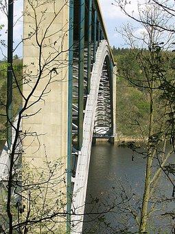 Arch, Steel Bridge, Architecture, Modern