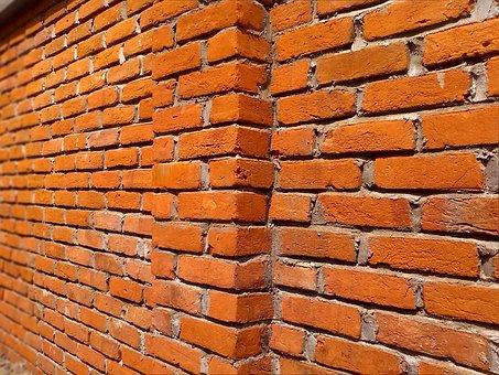 Brick Wall, Bricks, Building, Texture, Block, Aged