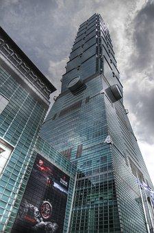 Taipei, Building 101, Building, Landmarks