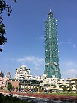 Taipei, 101, Building, Taiwan