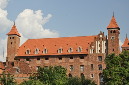 Castle, Castle Of The Teutonic Knights, Architecture