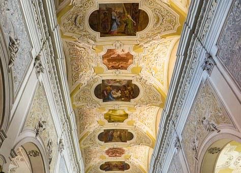 Religion, Church, Painting, Ceiling Painting, Faith