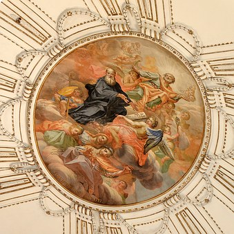 Sicily, Ragusa, Ceiling, Church Of San Giuseppe