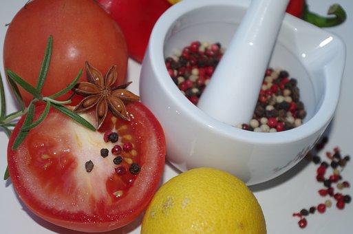 Colorful Spices, Maždiar, Tomato, Star Anise, Rosemary