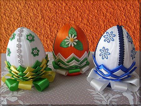 Eggs, Easter Symbol, Easter, Decorated Eggs
